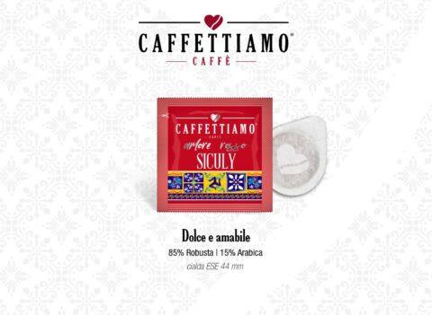 Cialde, Capsule e caffè in grani compatibili con nepresso e dolce gusto. Caffettiamo è selezionate miscele arabica dal gusto unico.Siciliano, Caffettiamo.